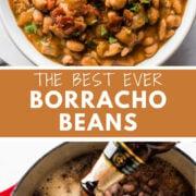 The best ever borracho beans