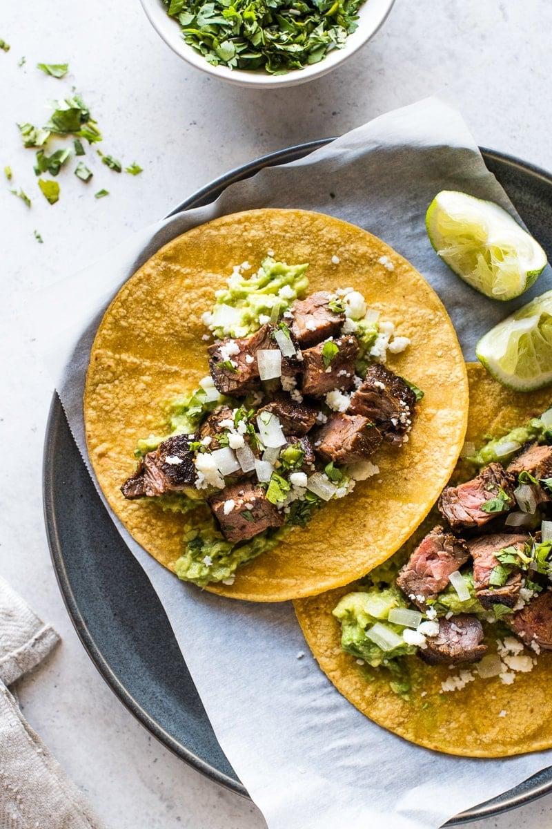 Carne Asada Tacos Isabel Eats