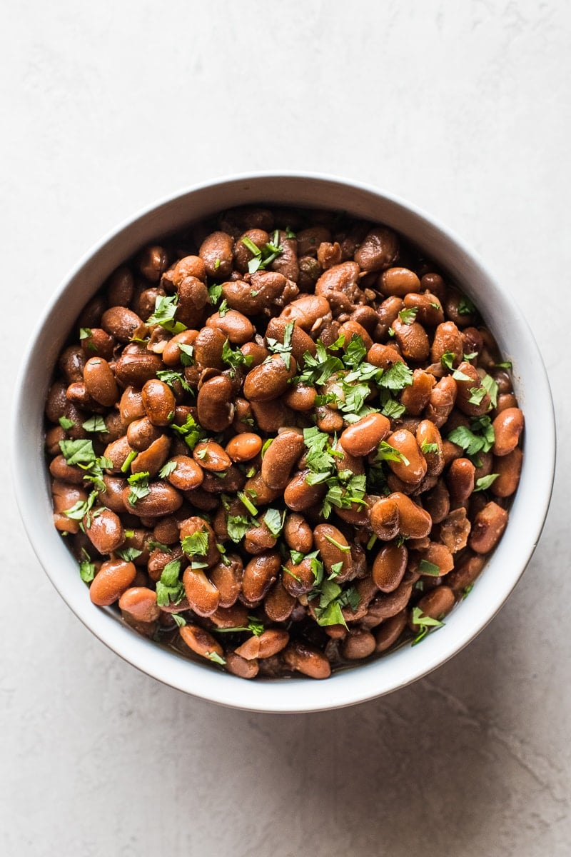 Instant Pot Pinto Beans No Soaking Required Isabel Eats