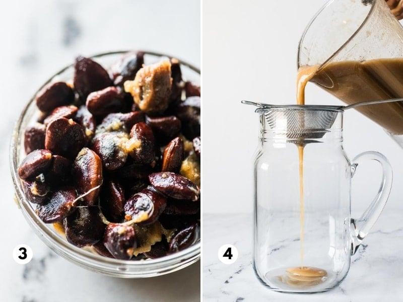 How to make agua de tamarindo process
