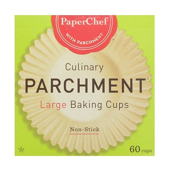Parchment paper baking cups