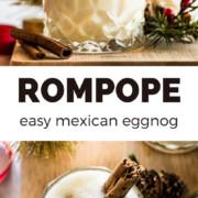 Rompope (Mexican Eggnog)