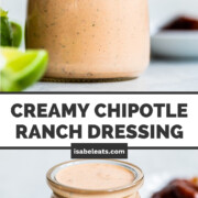 Creamy Chipotle Ranch Dressing