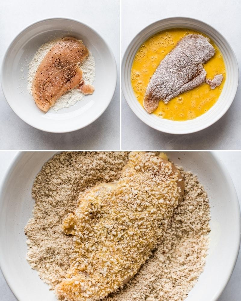 How to make Milanesa de Pollo step by step
