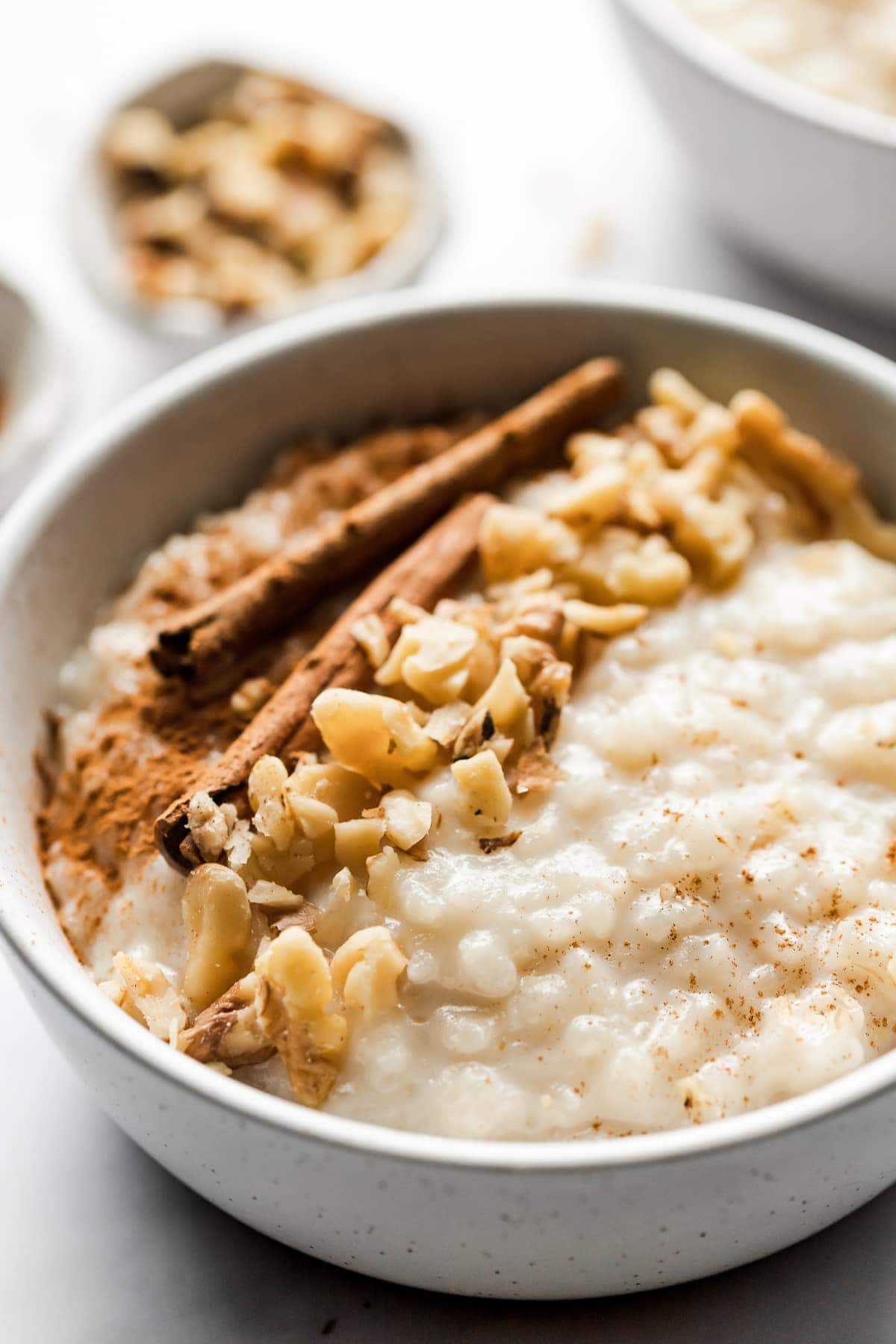 Arroz con Leche (or Mexican rice pudding) is a comforting and simple no-fuss dessert that's guaranteed to satisfy any sweet tooth.
