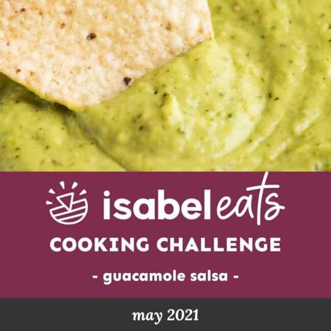 Guacamole Salsa Cooking Challenge