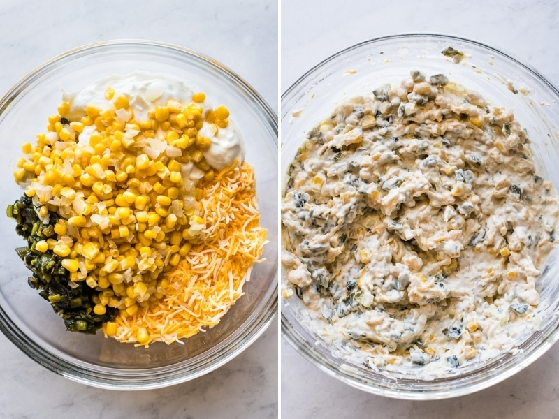 How to make chile relleno dip