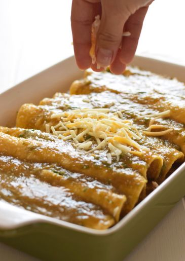 mexican chipotle chicken enchiladas recipe