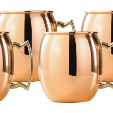 Copper Moscow Mule Mugs - $27 // Holiday Gift Guide Under $100