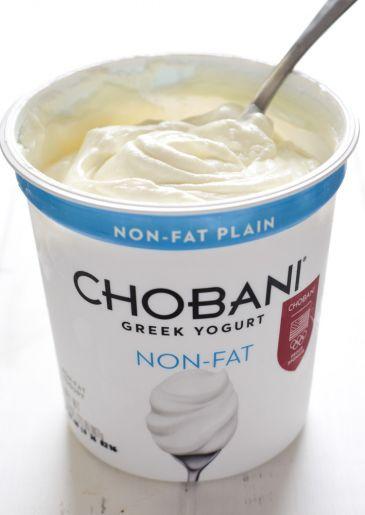 Chobani plain Greek yogurt makes this Salsa Verde Yogurt Sauce so delicious!
