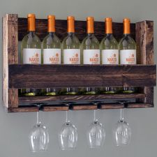 Wooden Wine Holder - $44 // Holiday Gift Guide Under $100
